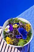 A flower salad