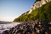 Jasmund National Park – a view of the chalk cliffs