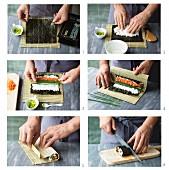 Maki-Sushi zubereiten