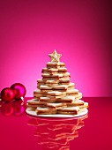 A Christmas made from Christmas biscuits