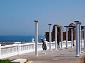 EDIT Elegante Küstenpromenade in Larache, Marokko