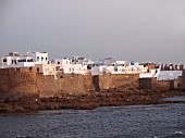 A view of Asilah – an artist's town between Larache and Tanger on the Atlantic coast of Morocco