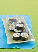 Chicken and Avocado Nori Rolls