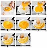Omelette zubereiten