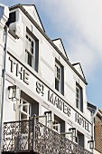 An exterior view of The St. Mawes Hotel (Cornwall, England)