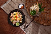 Mi Kathi (fried rice noodles with coconut sauce, Thailand)
