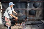 Desserts dämpfen, Thailand