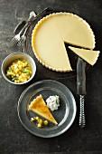 Caramelized lemon tart