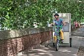 Lieferservice von Gourmet Trotteur per Fahrrad