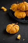Pumpkin rolls for Halloween