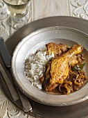 Duck curry with tamarinds (India)