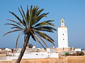 A view from the roof of the Riad le Mazagao over the Medina in El Jadida, Morocco