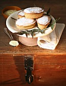 Pasticciotti leccesi (shortbread tartlets filled with cream, Italy)