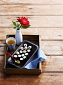 Maki-Sushi mit Gemüse