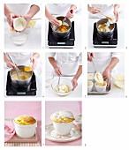 Zitrus-Soufflees zubereiten