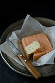 Maroilles (soft cheese made from raw and pasteurised cow milk, France)