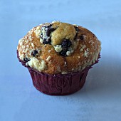 A blueberry muffin