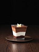 Chocolate layered desert