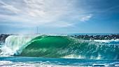 A large wave
