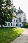The Baroque palace in Gödöllö, Hungary – Empress Sisi's favourite palace
