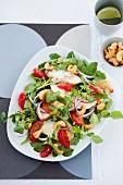 Chicken, watercress and orange salad
