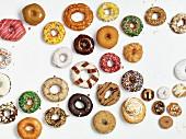 A selection of doughnuts