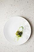 Glazed tench fish in carpione sauce (Italy)