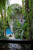 El Fenn, Riad Boutique Hotel belonging to Vanessa Branson, a view of the pool, Medina of Marrakesh, Morocco