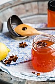 Quince jelly with star anise
