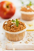 Vollkorn-Apfel-Muffins