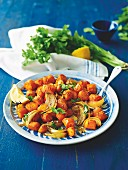 Roast moroccan carrots
