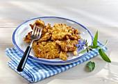 Canellini bean omelette