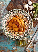 Garlic chicken (North Africa)