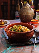 Pork and sweet potato tagine (North Africa)