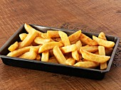 A tray of chips