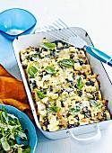 Chicken & vegetable pesto cannelloni