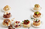 Pikelets with sweet or savoury twist