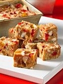 Candied fruit cake, diced