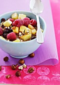 Muesli with fresh fruit