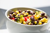 Corn salad with beans