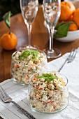 Salat Olivier - Kartoffelsalat, Russland