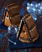 Lebkuchenhäuschen zu Weihnachten