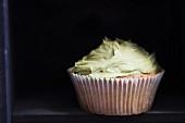 Cupcake mit Matchafrosting
