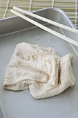 Yuba - Haut von Sojadrink (Spezialität aus Kyoto, Japan)