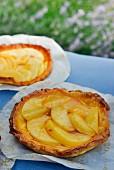 White peach tarts