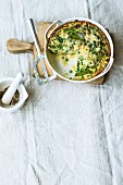 Risi bisi frittata with rice