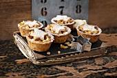 Mini apple pies for Christmas
