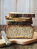 Sough dour wholemeal rye bread