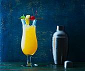 A Hurricane cocktail