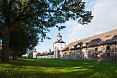 The main building of Schloss Corvy, Höxter, East Westphalia